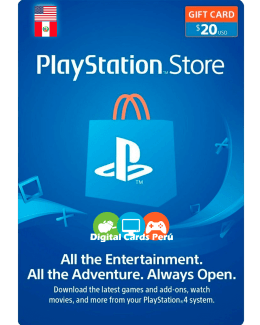 Tarjeta Playstation Network 20 dolares