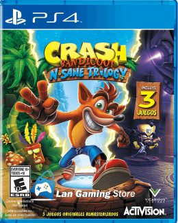 Crash Nsane Trilogy PS4