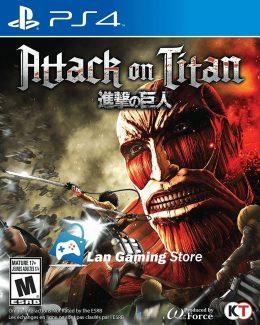Attack on Titan para PS4