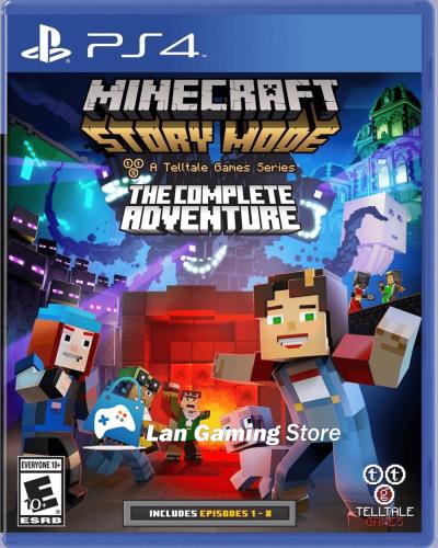 Minecraft Story Mode Aventura Completa para PS4