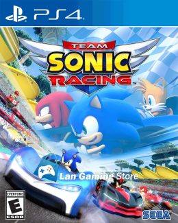Cover Team Sonic Racing para PS4