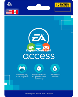 Foto 1 año EA Access Peru PS4