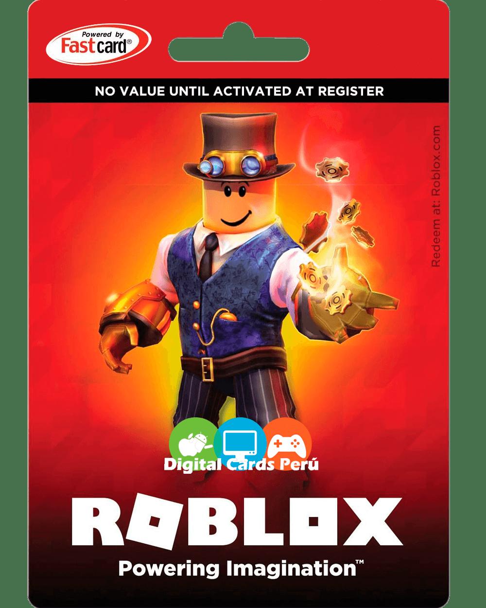 Tarjetas Roblox Global Envio Inmediato Peru Lan Gaming Store
