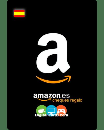 Tarjeta de ejemplo de Amazon España
