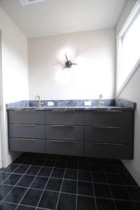 Modern Dual Sink Vanity