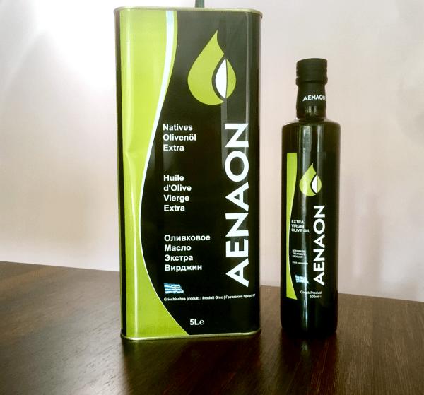 'Aenaon' unser Olivenöl aus Griechenland