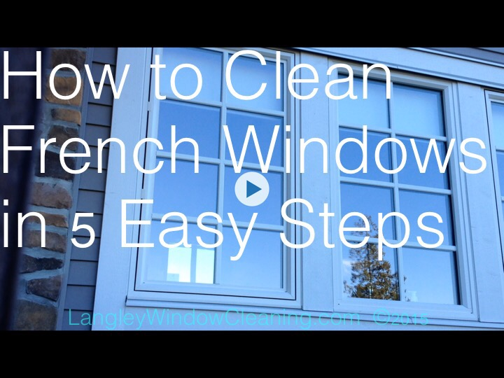 Langley Window Cleaning - French pane cleaning