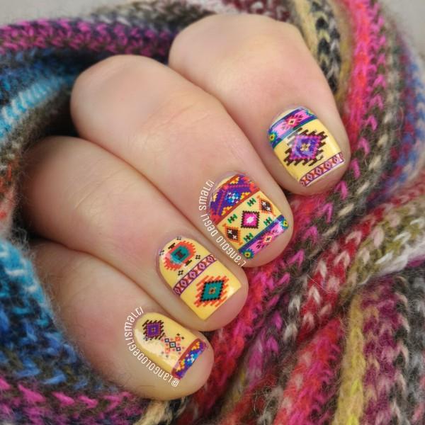 Native American Nail Art • L\'Angolo degli Smalti in English