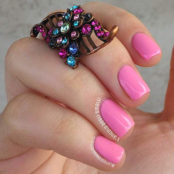 Kiko Nail Lacquer 506, Venus Pink • L\'Angolo degli Smalti in English