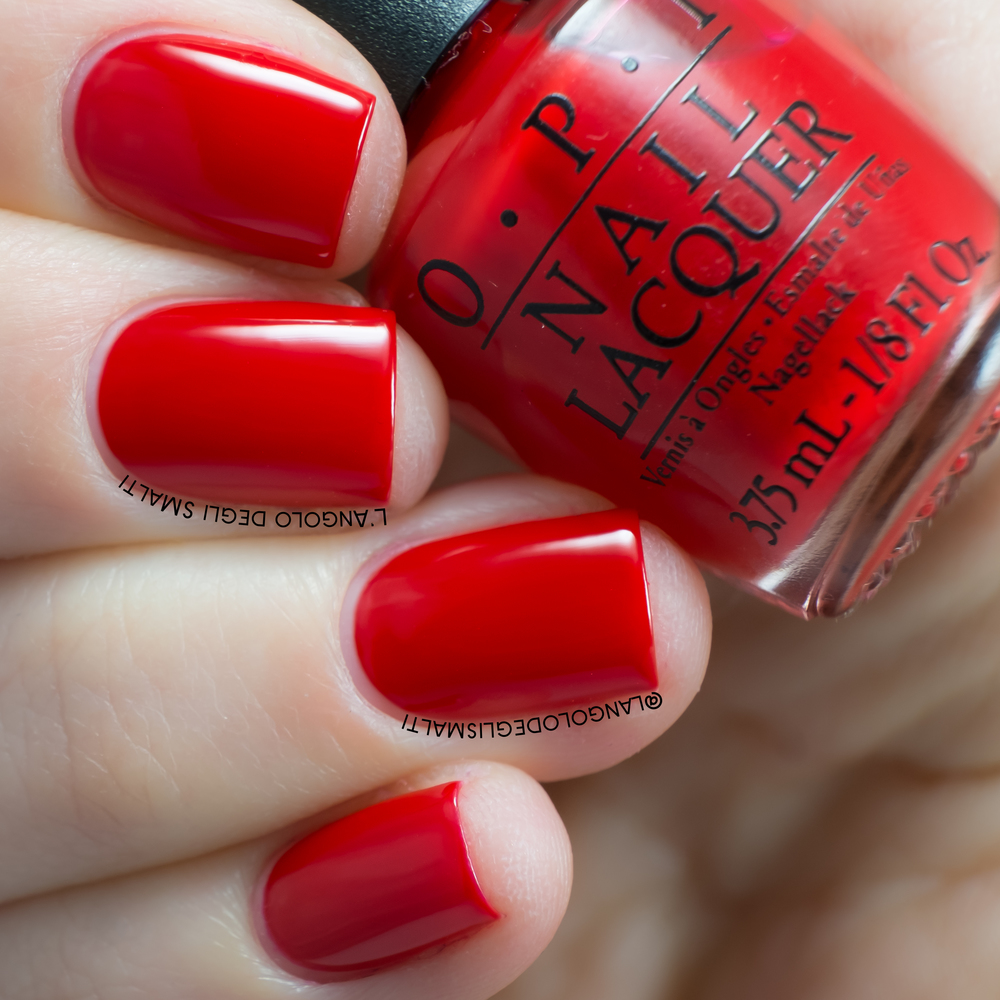OPI, Big Apple Red (NL N25)