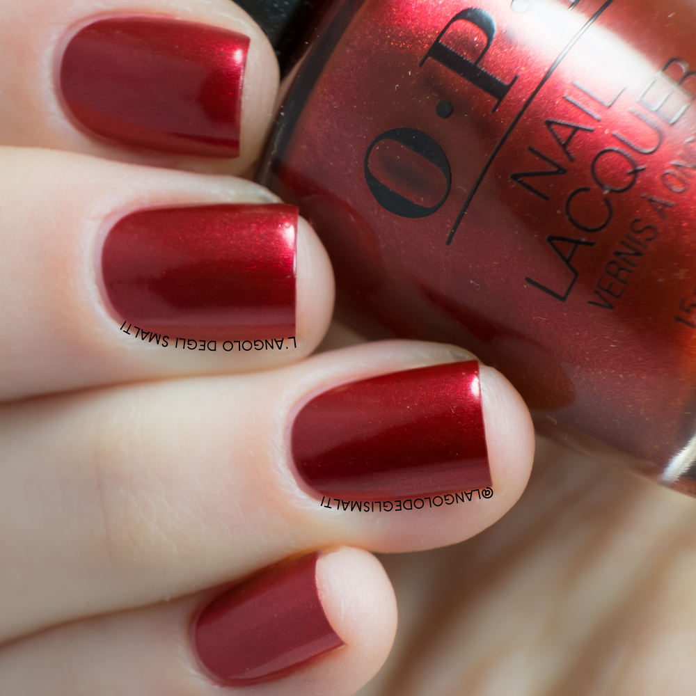 OPI, A Little Guilt Under The Kilt