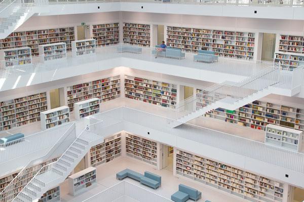 biblioteca stoccarda germania