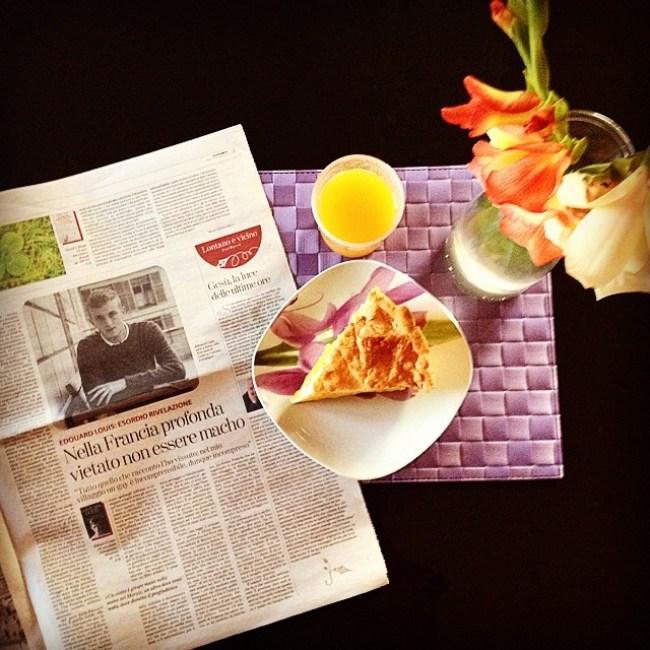 #colazioneletteraria + #ricettaletteraria = ️️️