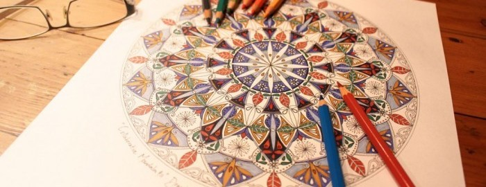 colouring books adult