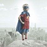 Libroterapia: Voler essere un supereroe