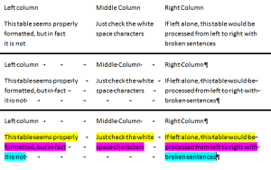 Example of word table formatting-best-practices-for-translation