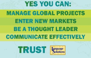 Yes you can statement for healthcare translation
