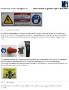 "Technologies 1366 ""Safety Guidelines"""