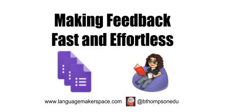 Faster, No Math Required Feedback