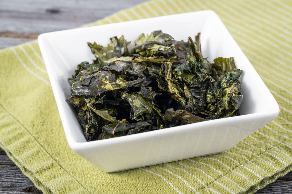 kale chips healthy snacks