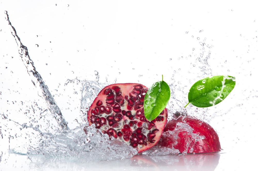 pomegranate detox waters