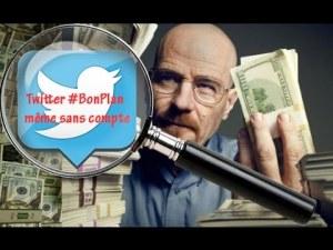 Utiliser Twitter comme moteur de recherche à promotions & bonplans (même sans compte ! )