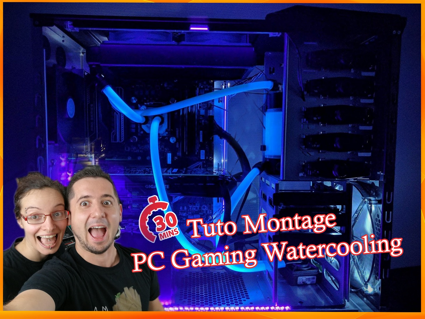 Tuto : monter son Pc gaming watercooling en 30mn avec Harleen_Fae