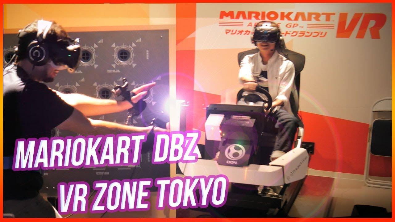 MarioKart DBZ Omni au Japon ! Les meilleures attractions VR au monde