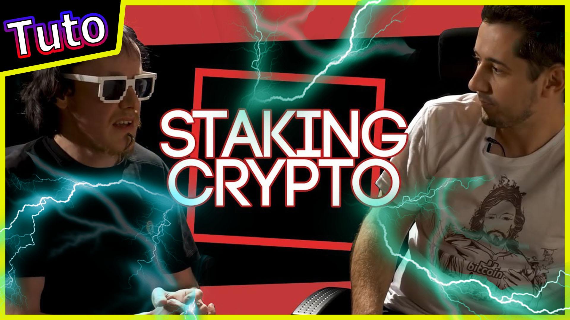 Staking cryptomonnaie en 8mn #bitcoin #altcoin