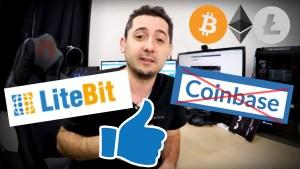 STOP Coinbase, Essaie Litebit avec 50 cryptos !  Paye moins de frais sur le bitcoin ! #LangueDeGeek