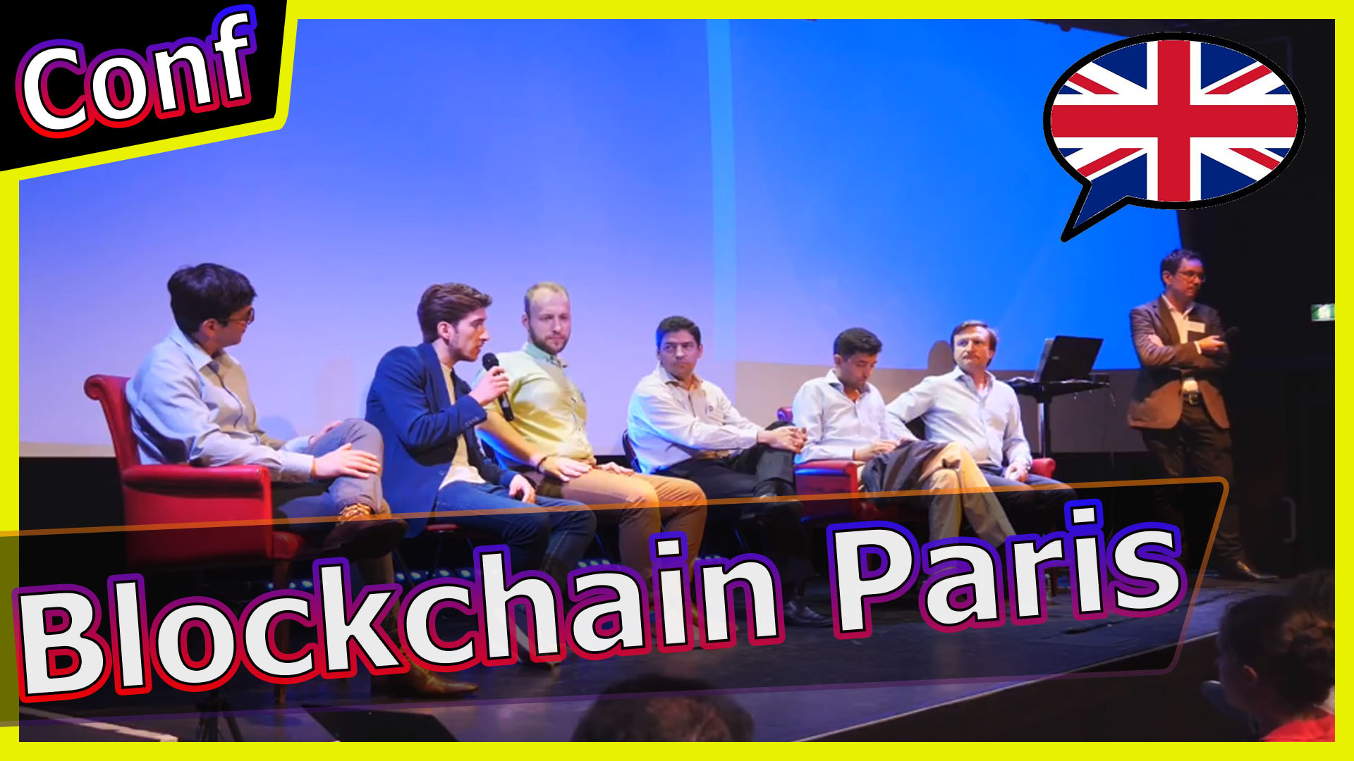 Conférence internationale Crypto Blockchain à Paris 5 juillet 2018 [English]