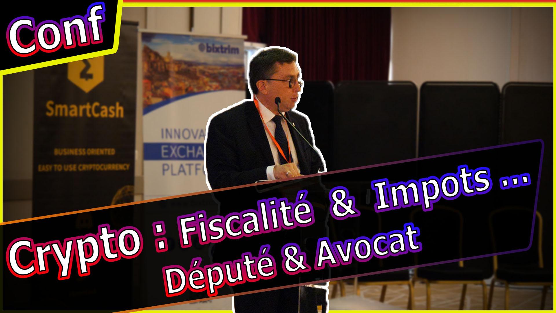 [Conférence] Fiscalité & Impôts Bitcoin et crypto en France les Perspectives