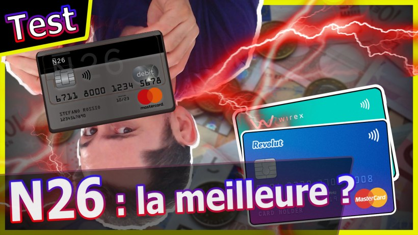 n26 neobanque carte bleu wire bitcoin crypto dollars euros