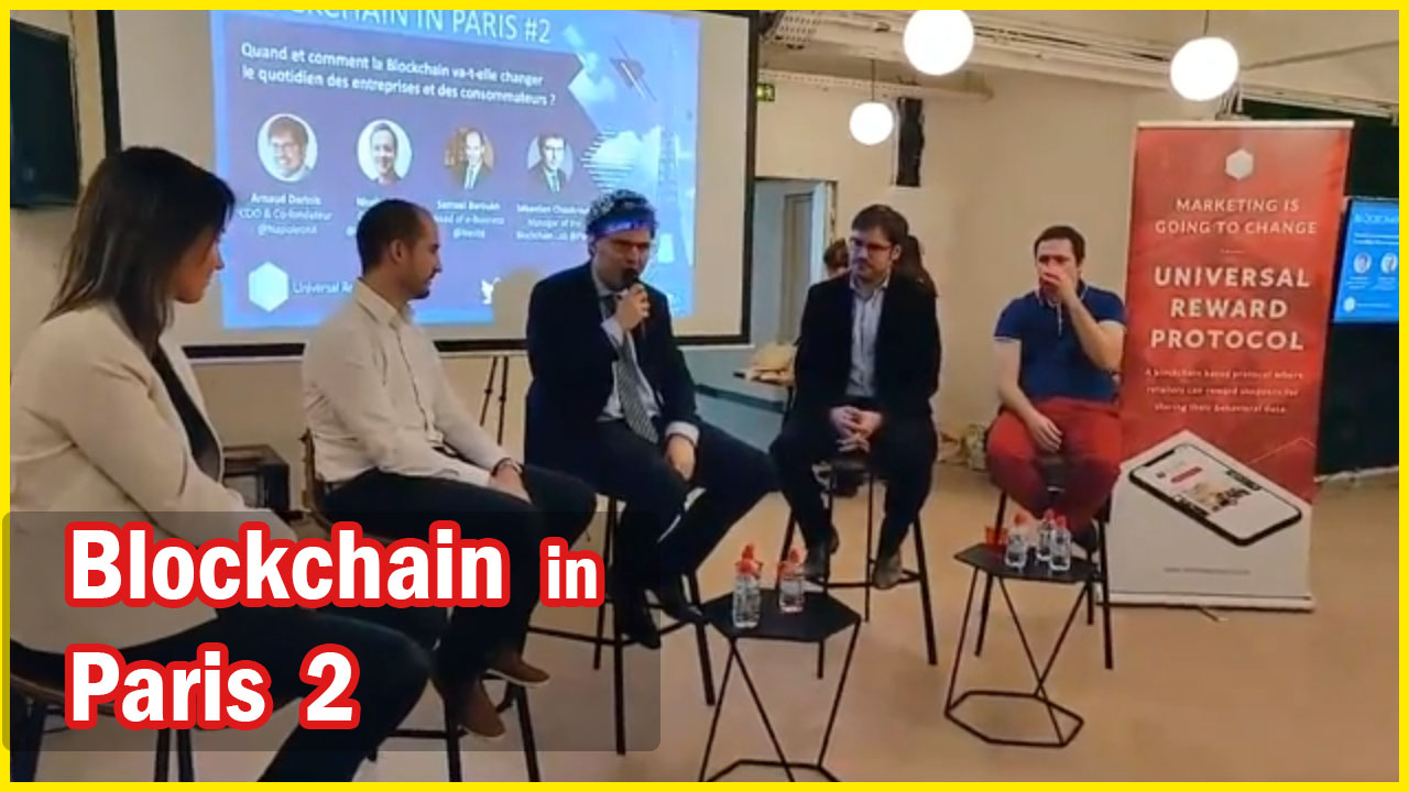 Blockchain In Paris 2 #Ledger #Nestle #ChainAccelerator