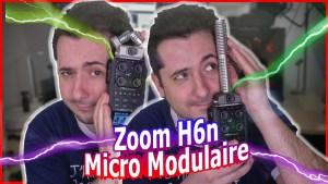 Zoom H6N : le micro modulable ultime pour interview musicien et professionnel