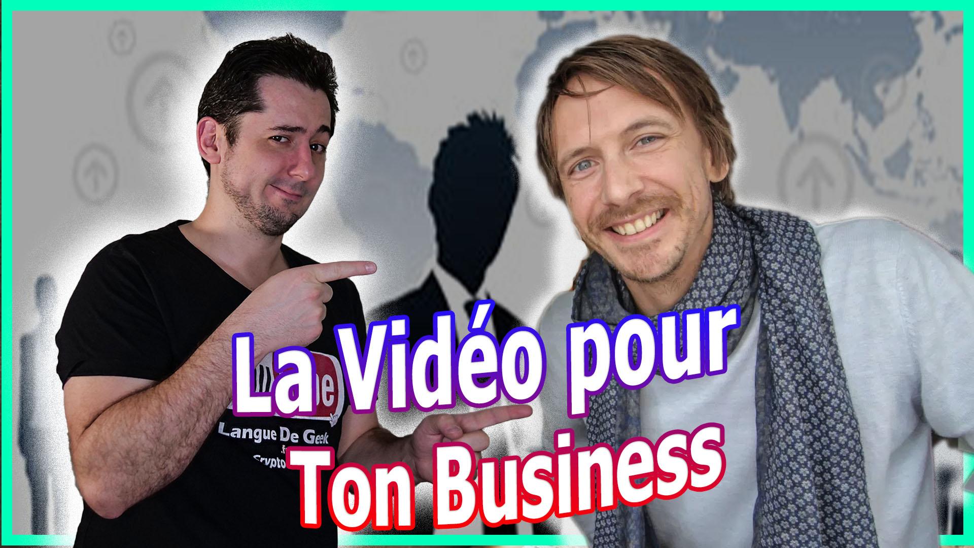 Stratégie Vidéo et Youtube pour ton Business avec Olivier Juprelle