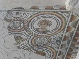 Roman tiles at Loupian