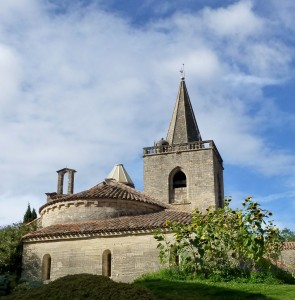 Church in Nezignan L'Eveque