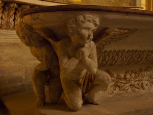 Beziers Catherdral - baptismal font