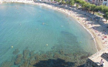 Collioure beach