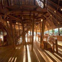 Bambus-Baumhaus auf Bali
