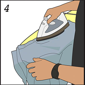 How to properly iron a shirt