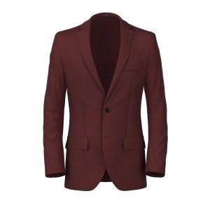 Burgundy or Red Blazer