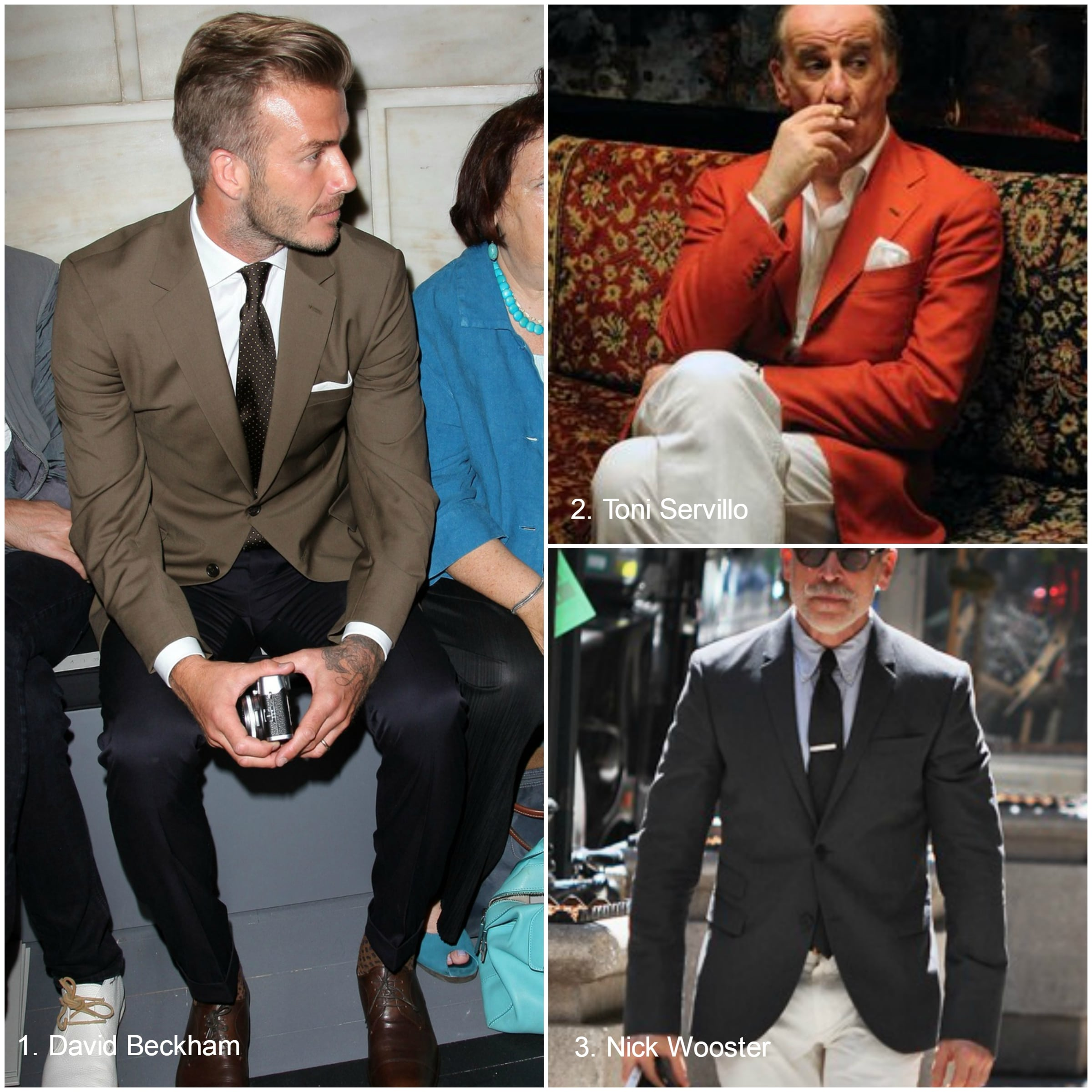 Broken suit: how to mix separates and color combinations ...