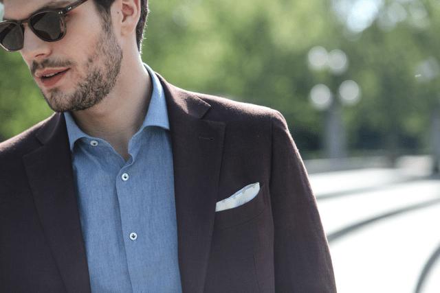 Piegare Pochette Uomo Matrimonio : Abbigliamento estivo da uomo vestirsi casual chic