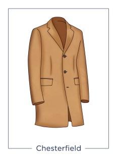 Cappotto da uomo Chesterfield