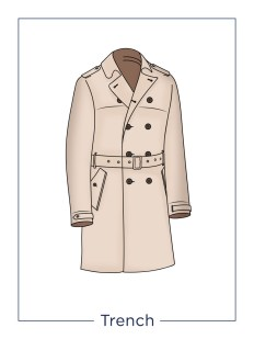men's coat Trench