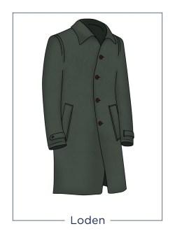 Loden overcoat