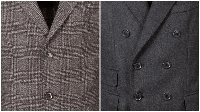 single or double breasted overcoat