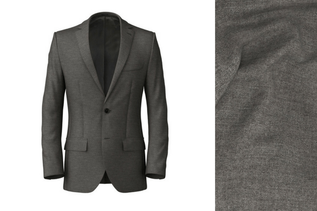 A men's wardrobe classic made from wool